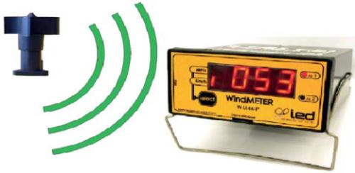 Unitate display pentru anemometru wireless WM 44-P RF